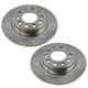 1ABFS02424-2013-16 Dodge Dart Brake Rotor Pair