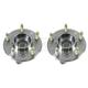 ACSHS00004-2005 Wheel Bearing & Hub Assembly Rear Pair