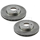 1ABFS02429-Mercedes Benz E320 E350 Brake Rotor Pair