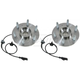 ACSHS00002-Wheel Bearing & Hub Assembly Front Pair AC Delco FW346