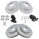 1ABFS02434-Hyundai Sonata Kia Optima Brake Kit