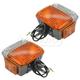 TYLPP00004-Toyota Land Cruiser Parking Light Pair  Toyota OEM 81510-69035  81520-69035