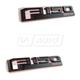 FDBMK00106-2015-16 Ford F150 Truck Nameplate Pair  Ford OEM GL3Z-16720-D  GL3Z-16720-C