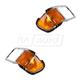 FDBMK00104-2000-15 Ford F650 Truck F750 Truck Headlight Bezel Pair  Ford OEM YC3Z-13200-AA  YC3Z-13201-AA