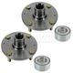 1ASHS00947-2001-06 Hyundai Elantra Wheel Bearing & Hub Kit Pair
