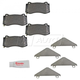 MPBPS00009-2006-10 Jeep Grand Cherokee Brake Pads  Mopar 68002193AA