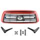 TYBGK00003-2007-09 Toyota Tundra Grille Conversion Kit  Toyota OEM 53100-0C240-D0  53118-0C030  53117-0C030  90119-A0190  90080-17236