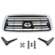 TYBGK00001-2007-09 Toyota Tundra Grille Conversion Kit  Toyota OEM 53100-0C240-A0  53118-0C030  53117-0C030  90119-A0190  90080-17236
