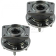 1ASHS00953-2002-08 Jaguar X-Type Wheel Bearing & Hub Assembly Pair