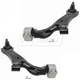 1ASFK03335-2010-16 Chevy Equinox GMC Terrain Control Arm with Ball Joint & Bracket Pair