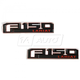 FDBMK00113-2015-16 Ford F150 Truck Nameplate Pair