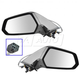 1AMRP00901-2010-15 Chevy Camaro Mirror Pair