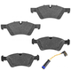 MBBFS00002-Mercedes Benz Brake Pad & Wear Sensor Kit  Mercedes Benz 164-420-08-20  164-540-10-17