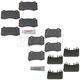 MPBFS00003-Brake Pads  Mopar 5174311AC  5174327AC