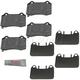 MPBPS00013-Brake Pads  Mopar 5174327AC