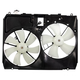 1ARFA00269-2004-05 Toyota Sienna Radiator Dual Cooling Fan Assembly