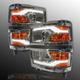 1ALHZ00052-2014-15 Chevy Silverado 1500 Headlight Pair