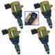 1ASHS00499-Lexus Wheel Bearing & Hub Assembly Rear Pair  TRQ BHA53594