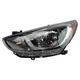 1ALHL02421-Hyundai Accent Headlight