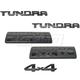 TYBMK00046-2014-16 Toyota Tundra Emblem Kit  Toyota OEM 75471-0C170  75471-0C160  75474-0C050  75472-0C070  75473-0C050