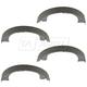 1ABPS02273-Parking Brake Shoe Set