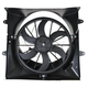 1ARFA00282-Jeep Grand Cherokee Radiator Cooling Fan Assembly