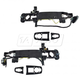 GMDRK00013-2008 Cadillac CTS STS STS-V Exterior Door Handle Reinforcement Front Pair