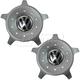 VWWHK00012-2002-10 Volkswagen Beetle Wheel Center Cap Pair  Volkswagen 1C0-601-149-N-MBL