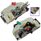 MPDRK00011-Dodge Nitro Jeep Liberty Door Lock Actuator & Integrated Latch Pair  Mopar 4589278AI  4589279AJ