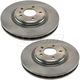 1ABFS02504-2005-08 Pontiac Grand Prix Brake Rotor Front Pair