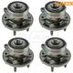 TKSHS00812-2011-16 Ford Explorer Wheel Bearing & Hub Assembly  Timken HA590446