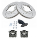 1ABMS00059-Acura CL Honda Accord Brake & Wheel Bearing Kit