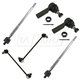 1ASFK03760-2003-08 Pontiac Vibe Toyota Matrix Steering & Suspension Kit