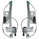 1AWRK00466-2000-01 Cadillac Deville Window Regulator Front Pair