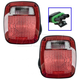 1ALTP01013-1987-90 Jeep Wrangler Tail Light Pair