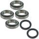 1ASHS00989-1986-95 Suzuki Samurai Wheel Bearing & Seal Kit Pair