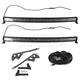 1ALUK00072-2007-15 Jeep Wrangler Light & Mounting Bracket Kit