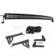 1ALUK00073-2007-15 Jeep Wrangler Light & Mounting Bracket Kit