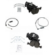 1ABFS02620-BMW X5 Brake Pad & Wear Sensor Kit