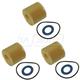 TYEEK00021-Engine Oil Filter & Drain Plug Gasket Kit  Toyota OEM 90430-12031  04152-YZZA6