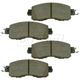 1ABPS02288-Nissan Altima Leaf Brake Pads