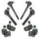 1ASFK03904-2000-01 Dodge Ram 1500 Truck Steering & Suspension Kit