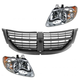 1ABGK00068-2005-07 Dodge Caravan Grand Caravan Grille & Headlights Kit