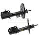 MNSSP00980-2009-14 Nissan Maxima Strut Assembly Pair  Monroe OESpectrum 72605  72604