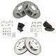 1ASHF00198-Wheel Bearing & Hub Assembly  TRQ BHA54004
