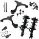 1ASFK04075-2003-05 Honda Civic Steering & Suspension Kit