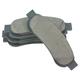 1ABPS02284-Ford Brake Pads  Nakamoto CD1067