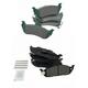 1ABFS02740-Mercedes Benz Brake Pads