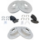 1APBS00798-Acura TSX Honda Accord Brake Kit