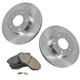 1ABFS02742-2000-06 Mazda MPV Brake Kit